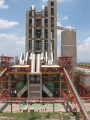 Steel Structure for Cement Plants - Silicon Info
