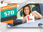 Driving Lessons in Newcastle with Tailored Packages at $70 for 1 Hour