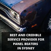 Best and Credible Service Provider for Panel Beaters in Sydney