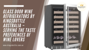 Glass Door Beer And Wine Dual Zone Fridges