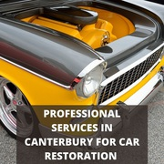 Professional Services in Canterbury for Car Restoration