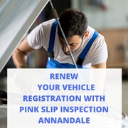 Renew Your Vehicle Registration with Pink Slip Inspection Annandale