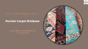 Persian Carpet Brisbane