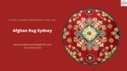 Afghan Rug Sydney